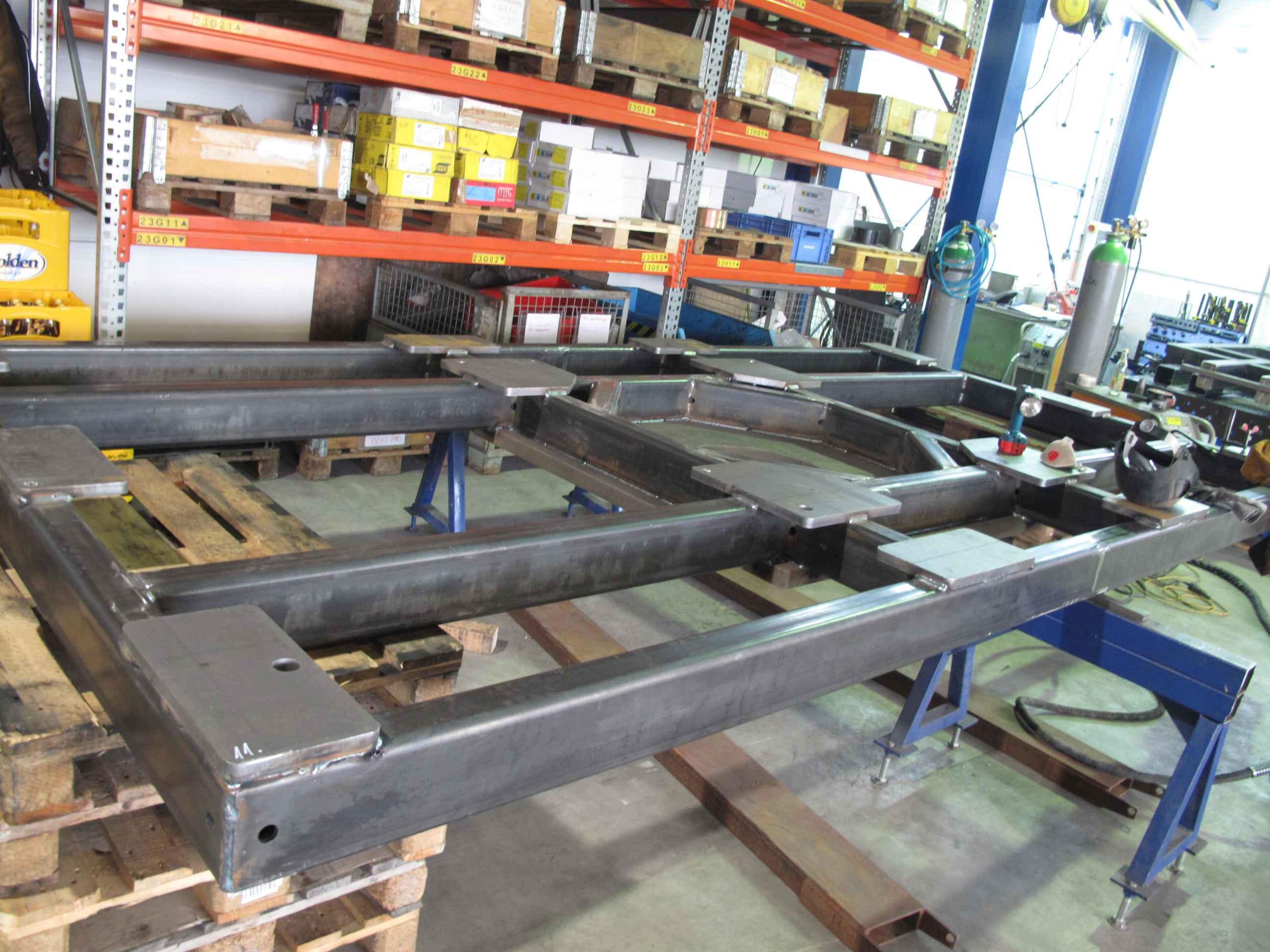 HIEBER Ideen aus Stahl Hydrauliktank